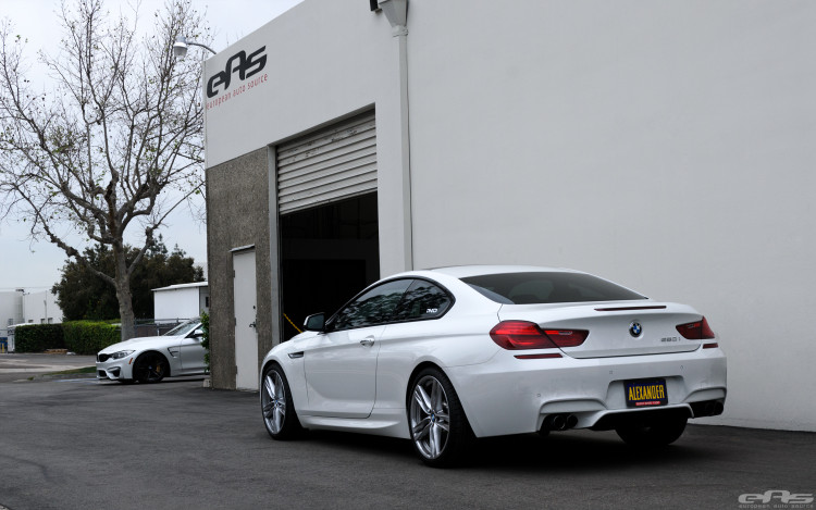 Alpine White BMW 650i CoAlpine White BMW 650i Coupe Gets Nicely Lowered