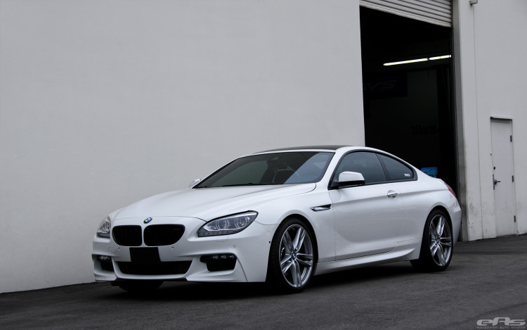 Alpine White BMW 650i Coupe Gets Nicely Lowered 5 750x469