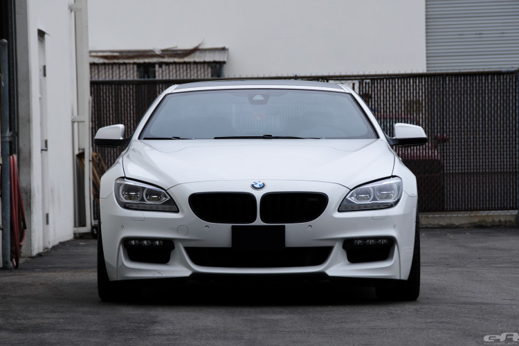 Alpine White BMW 650i Coupe Gets Nicely Lowered 6 750x500