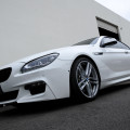 Alpine White BMW 650i Coupe Gets Nicely Lowered