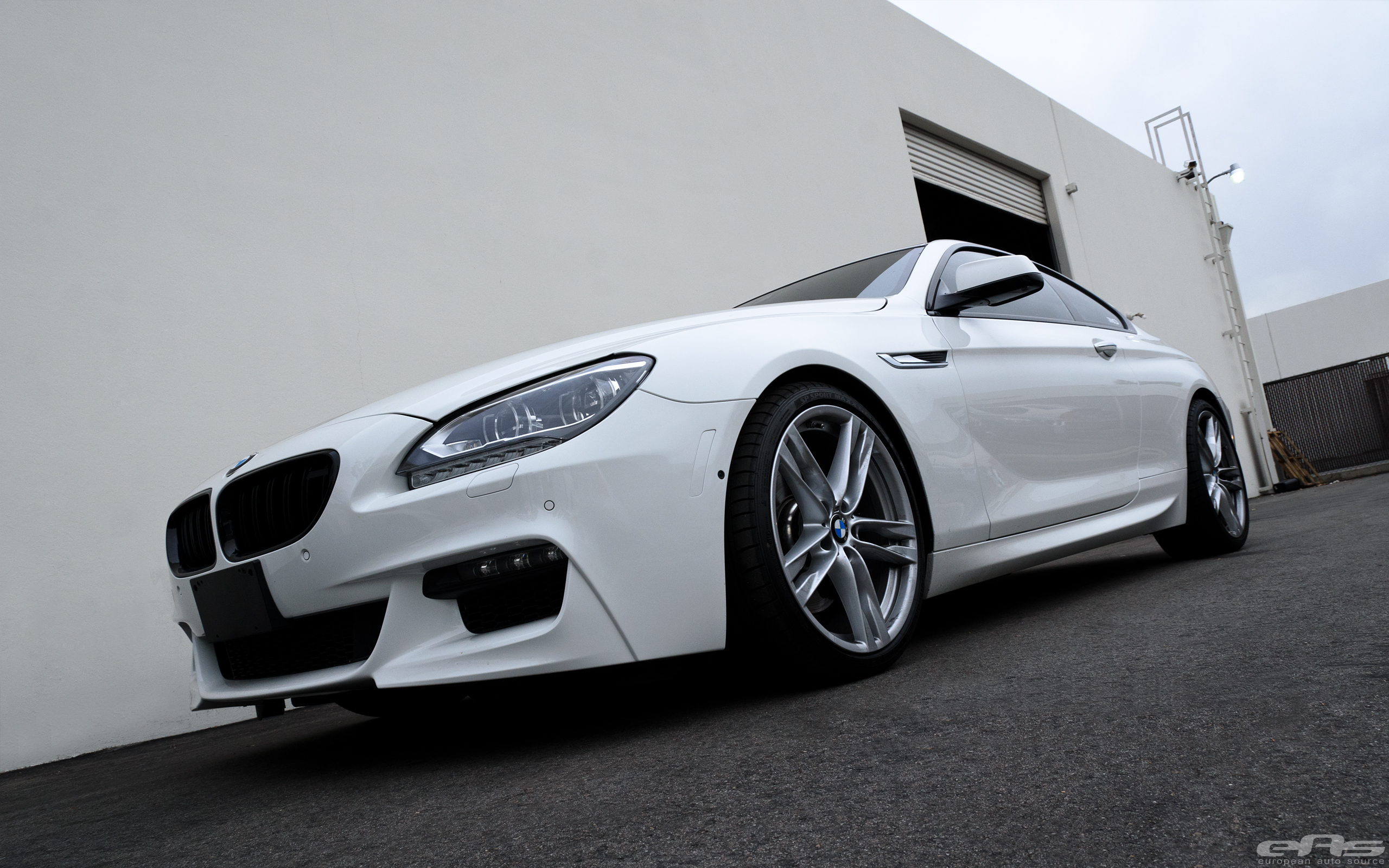 Alpine White Bmw 650i Coupe Gets Some Exterior Upgrades