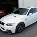 Alpine White BMW E92 M3 With Vorsteiner Goodies Installed