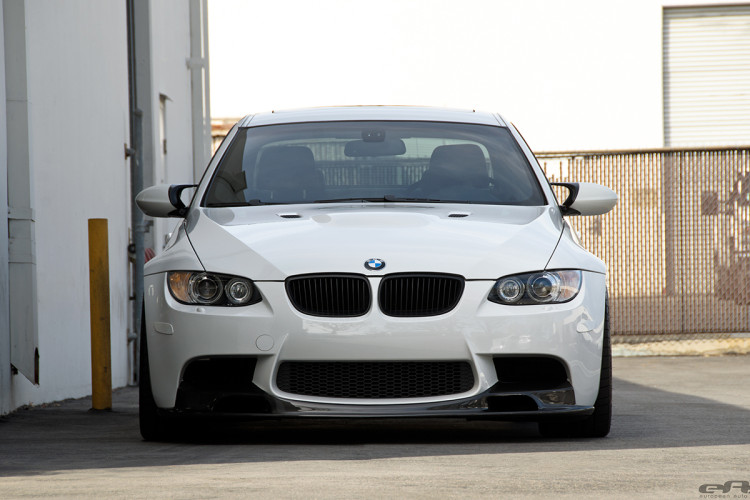 Alpine White BMW E92 M3 With Vorsteiner Goodies Installed 11 750x500
