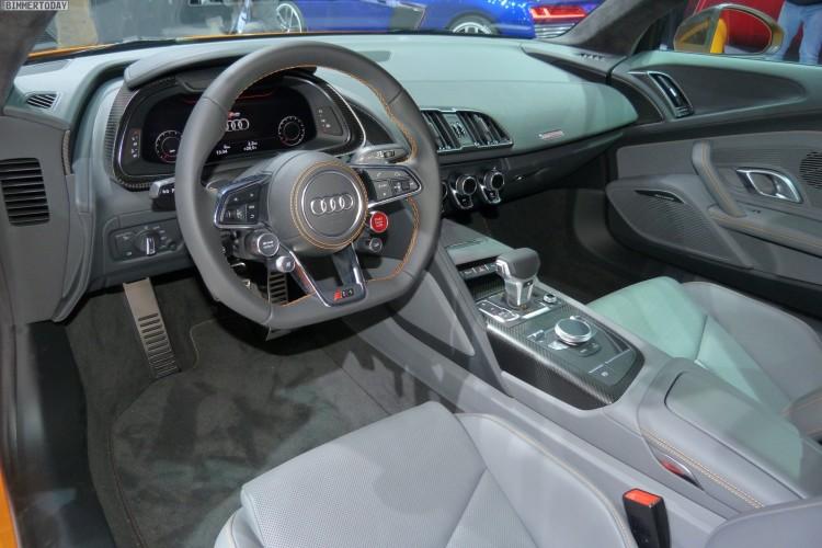 Audi R8 V10 plus quattro 2015 Genf Autosalon Live 05 750x500
