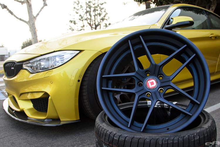 Austin Yellow BMW F82 M4 With Klassen Wheels Installed By European Auto Source 1 750x500
