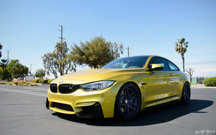 Austin Yellow BMW F82 M4 With Klassen Wheels Installed By European Auto Source 10 750x469