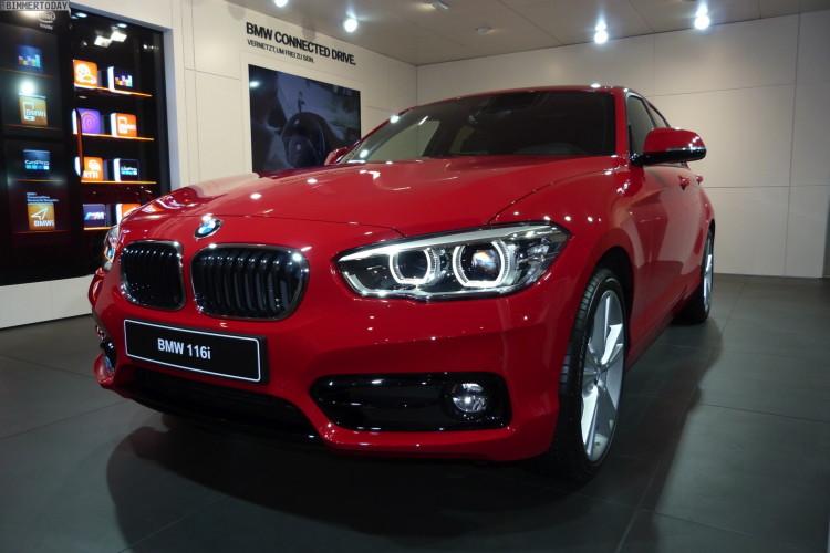 BMW 1 series facelift images geneva 01 750x500