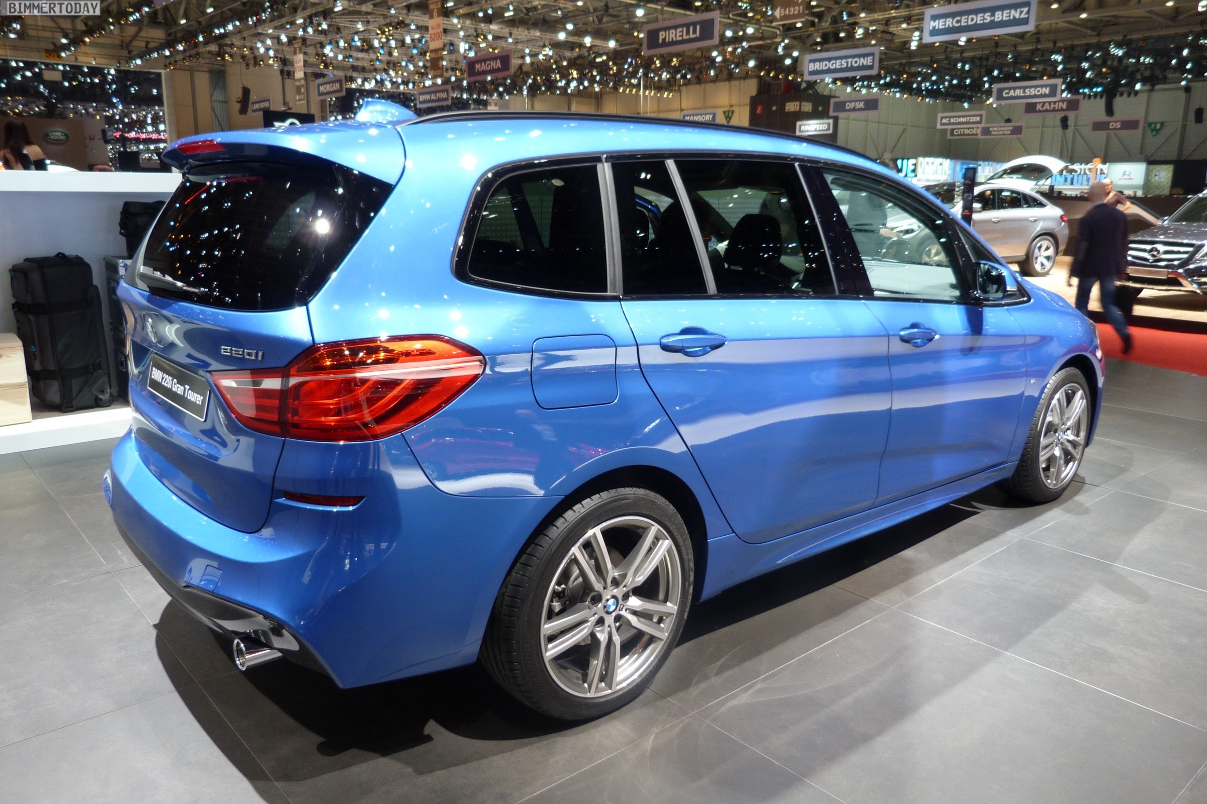 2015 geneva motor show bmw 2 series gran tourer m sport package. Black Bedroom Furniture Sets. Home Design Ideas