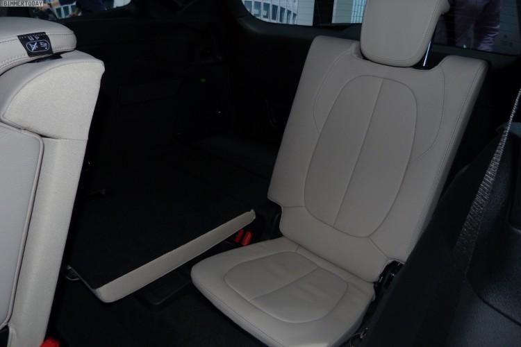 BMW 2er Gran Tourer F46 220d xDrive 2015 Interieur Autosalon Genf LIVE 05 750x500
