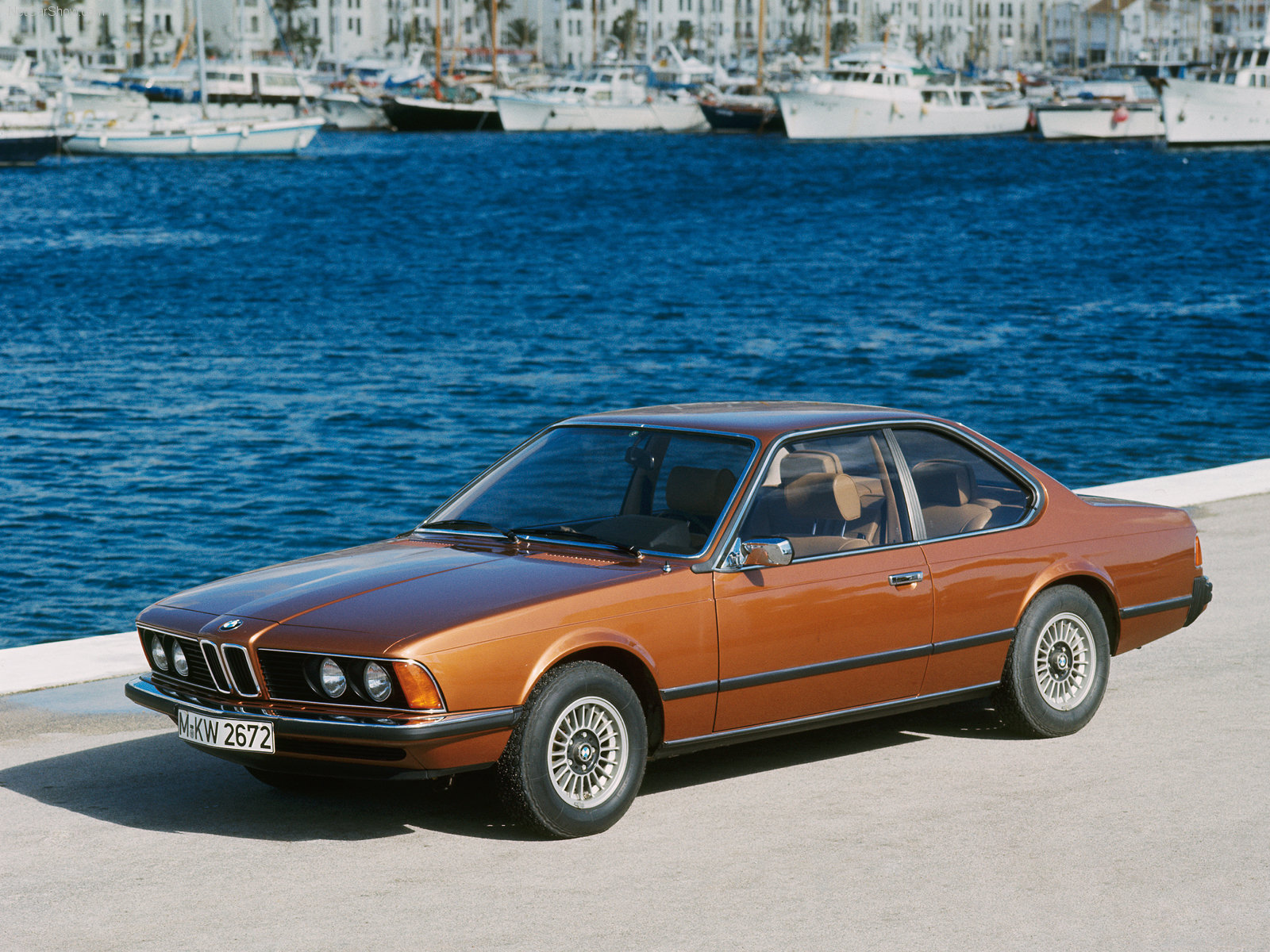 BMW 630CS 1976 1600x1200 wallpaper 01