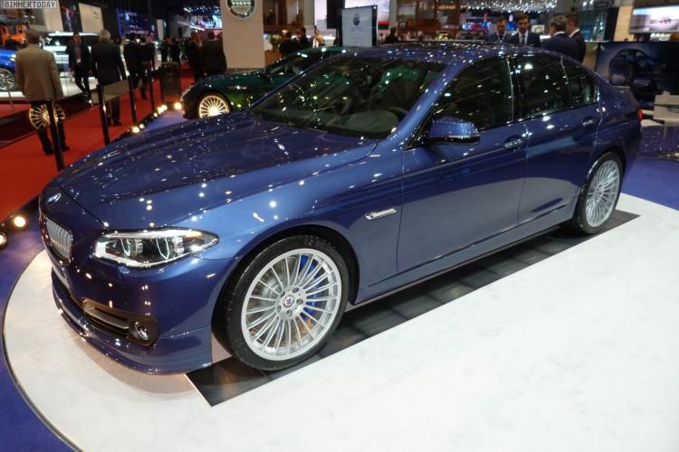 BMW Alpina B5 Edition 50 Autosalon Genf 2015 LIVE 08 750x500