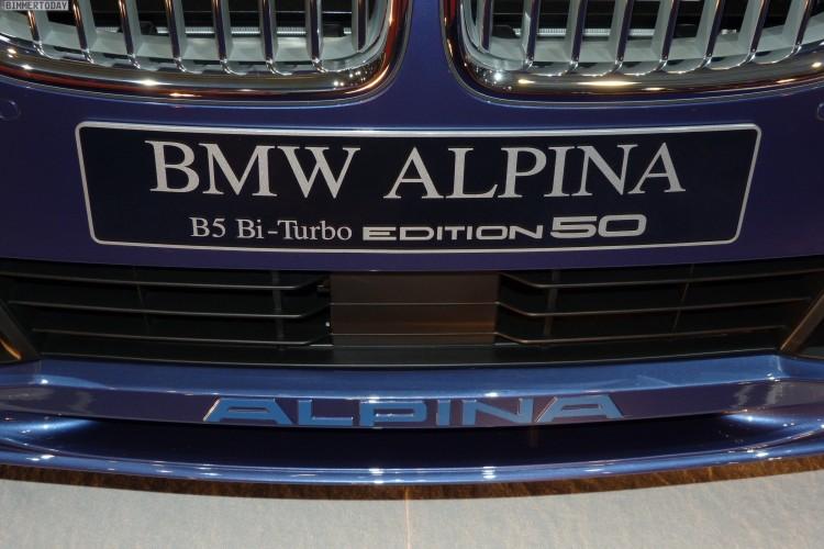 BMW Alpina B5 Edition 50 Autosalon Genf 2015 LIVE 10 750x500