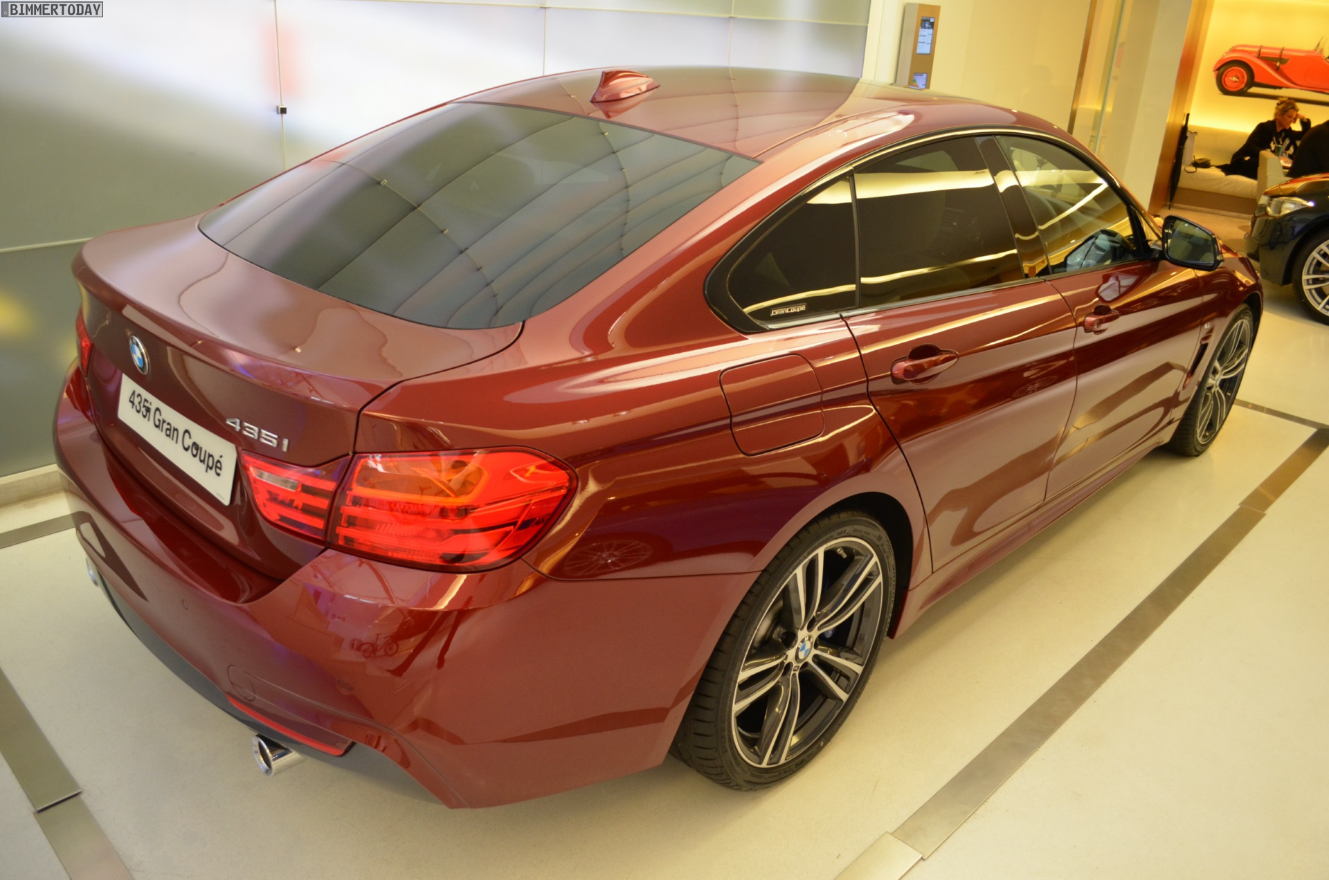 Bmw 435i Gran Coupe >> BMW 4 Series Gran Coupe in Ruby Red II Individual Color