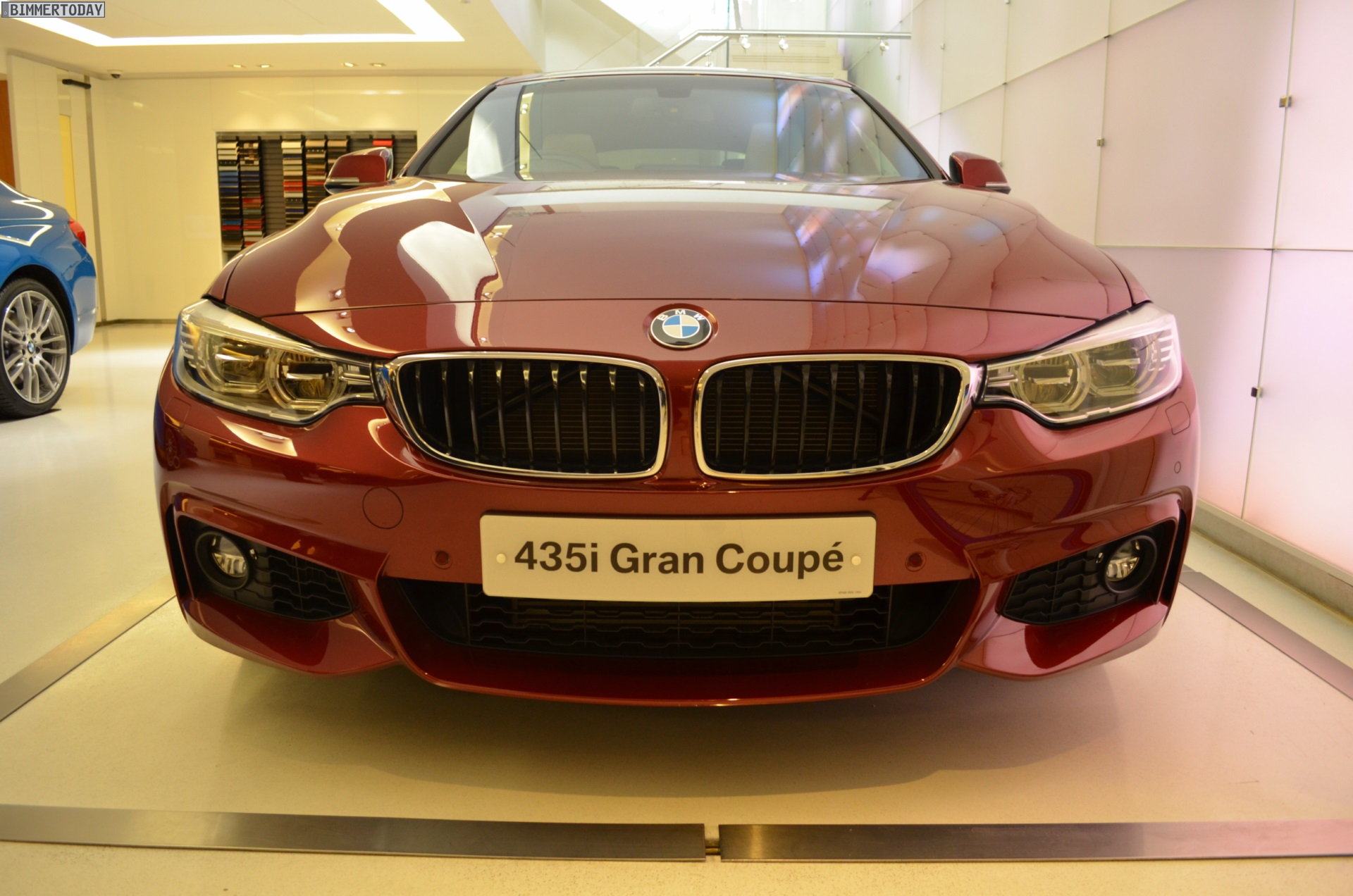 BMW Individual Rubinrot II 4er Gran Coupe F36 Ruby Red II 11