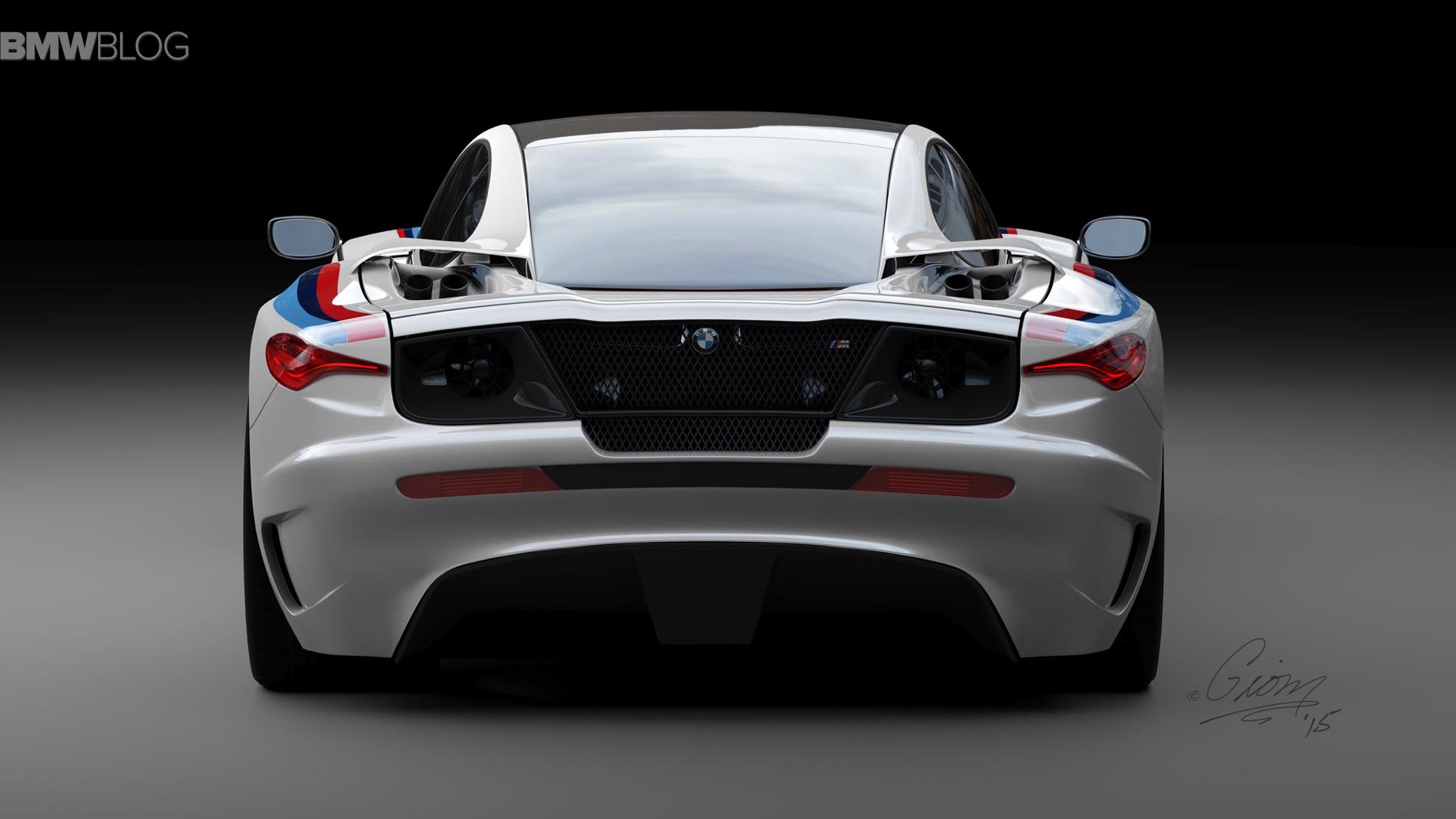 Bmw M1 Design Concept Renderings