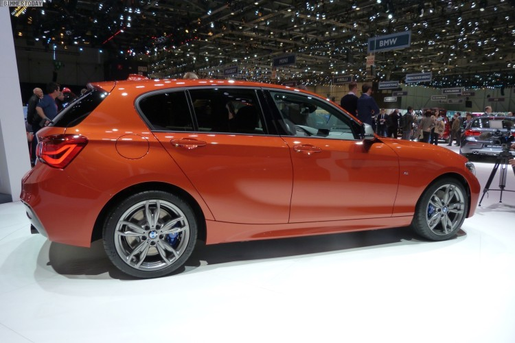 BMW-M135i-Facelift-2015-F20-LCI-xDrive-Valencia-Orange-Autosalon-Genf-Live-08