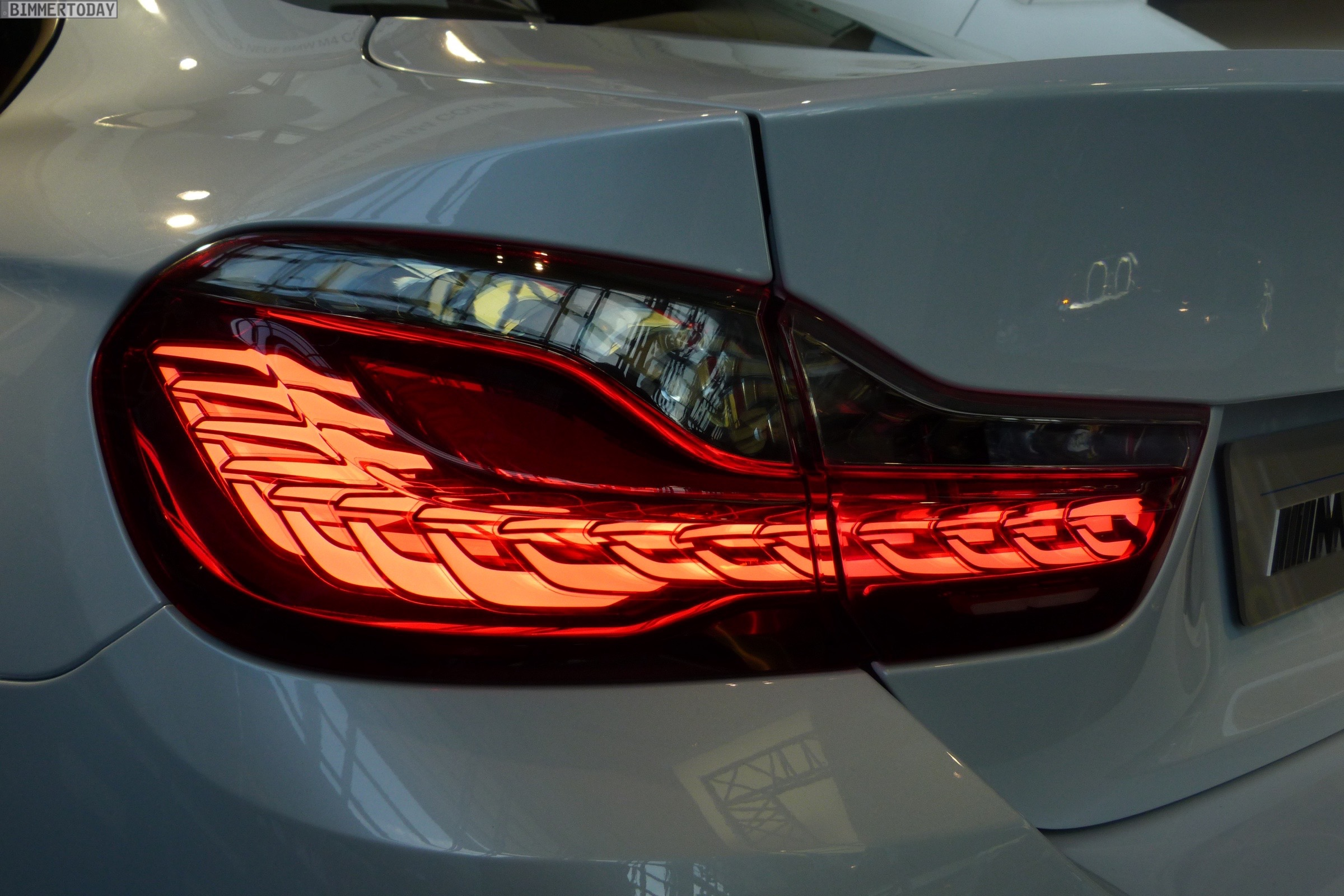 BMW M4 Iconic Lights Laser OLED Coupe F82 Welt 2015 14