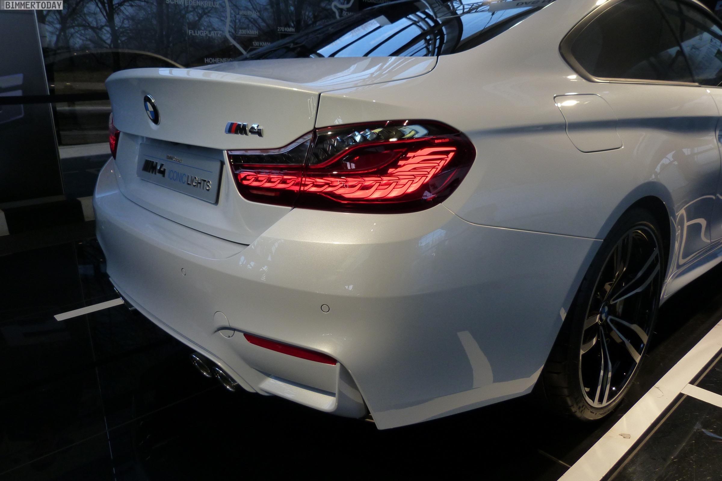 Bmw M4 Concept Iconic Lights Displayed At Bmw Welt