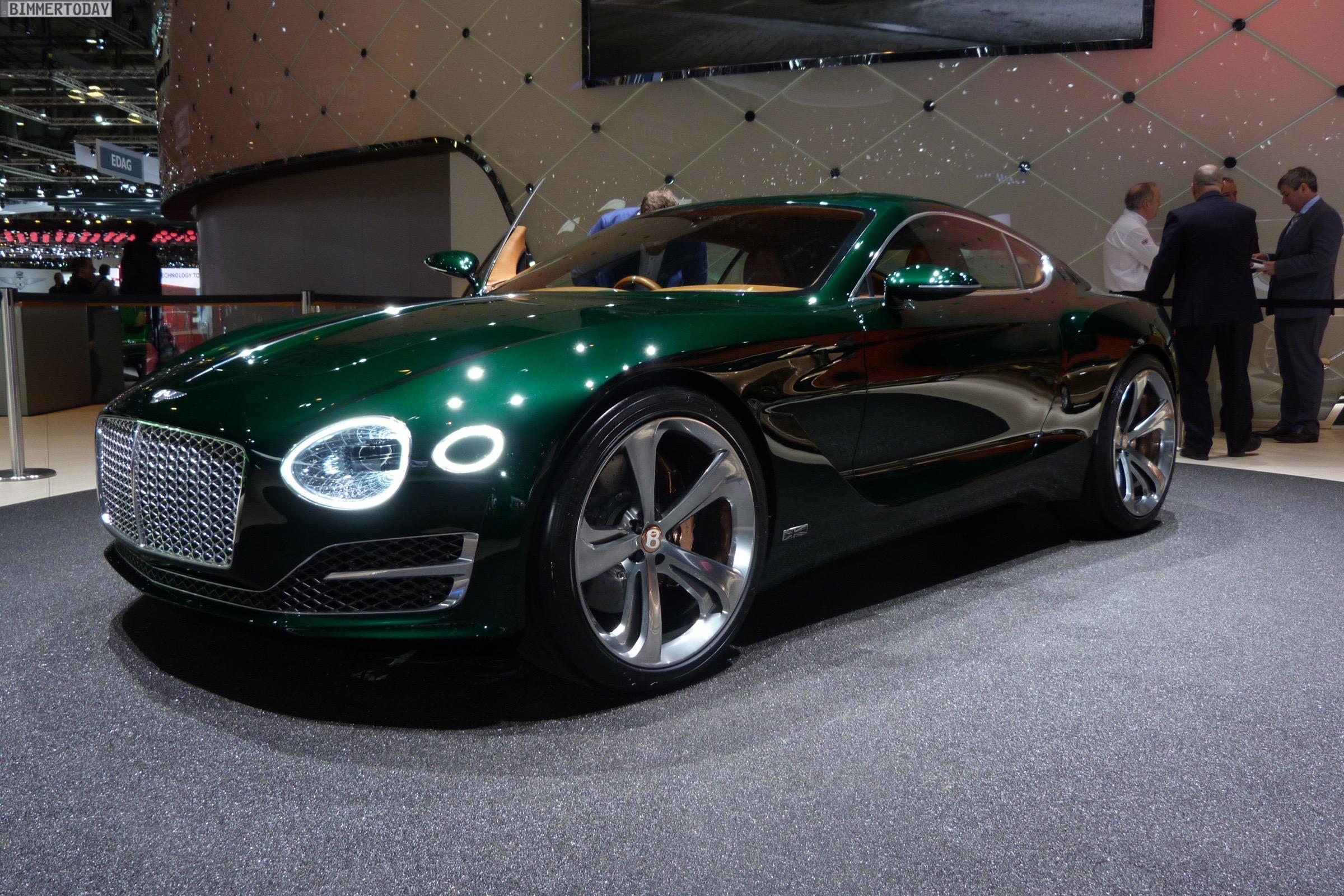 2015 Geneva Motor Show: Bentley EXP 10 Speed 6 Concept