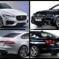 Bild Vergleich BMW 5er F10 M Paket Jaguar XF S Limousine 2015 01 120x120