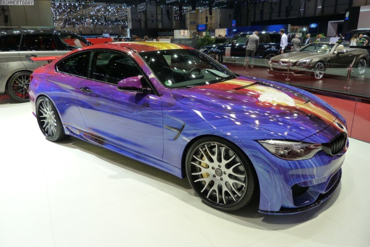 Hamann BMW M4 Coupe F82 Tuning Art Car 2015 Genf Autosalon Live 07 750x500
