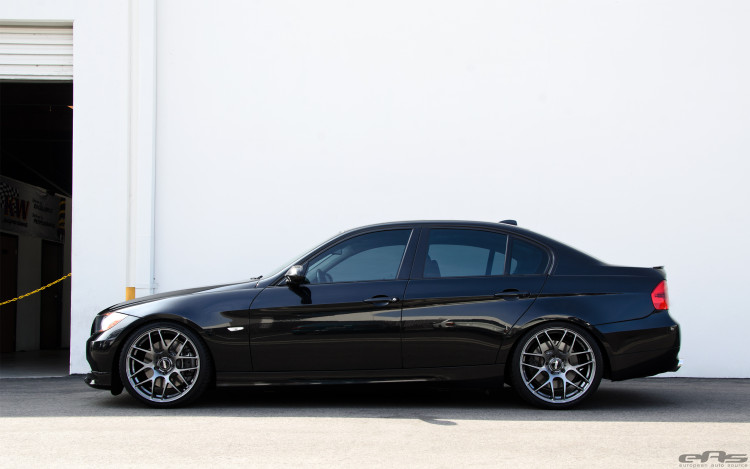 Jet Black BMW E90 335i Looks Clean With Aftermarket Wheels 1 750x469