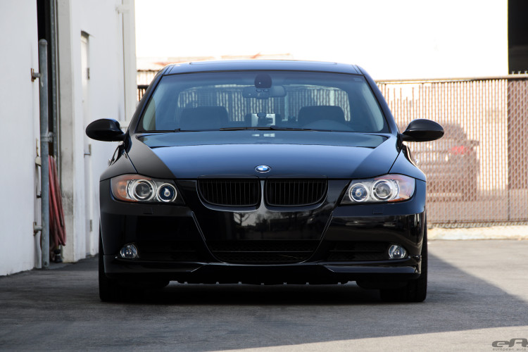Jet Black BMW E90 335i Looks Clean With Aftermarket Wheels 5 750x500