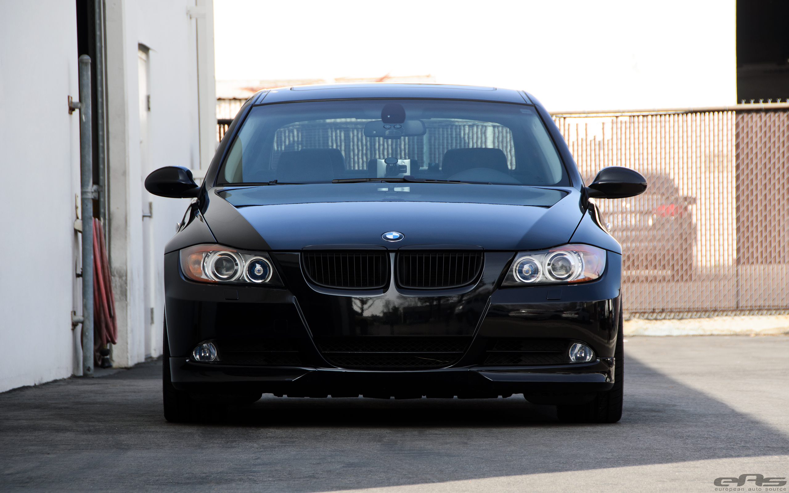 Jet Black BMW E90 335i Looks Clean With Aftermarket Wheels 5