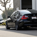 Jet Black BMW E90 335i Looks Clean With Aftermarket Wheels