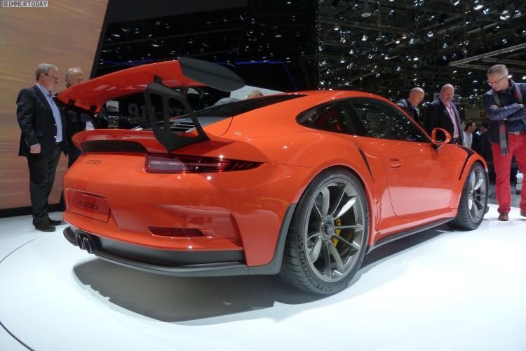 Porsche 911 GT3 RS 2015 Genf Autosalon Live 02 750x500