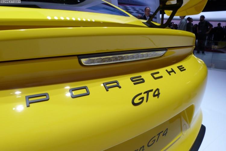 Porsche Cayman GT4 2015 Genf Autosalon Live 14 750x500