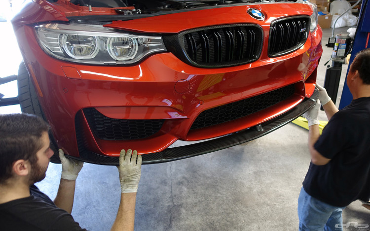 Sakhir Orange BMW F80 M3 Gets Some Carbon Fiber And Other Goodies Installed 3 750x469