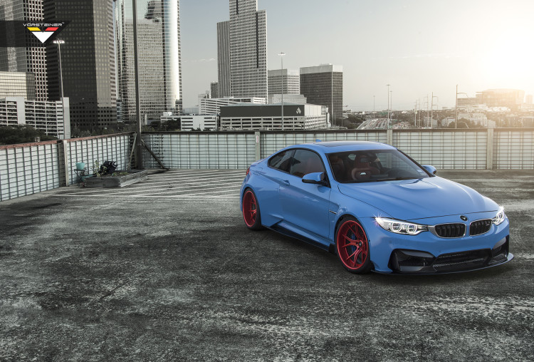 Vorsteiner Yas Marina Blue GTRS4 Widebody Photoshoot