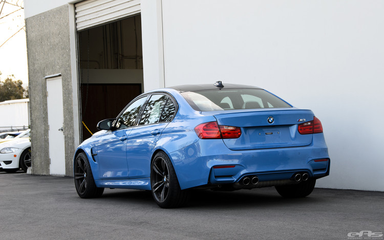 Yas Marina Blue BMW F80 M3 Gets Some Essential Updates 1 750x469