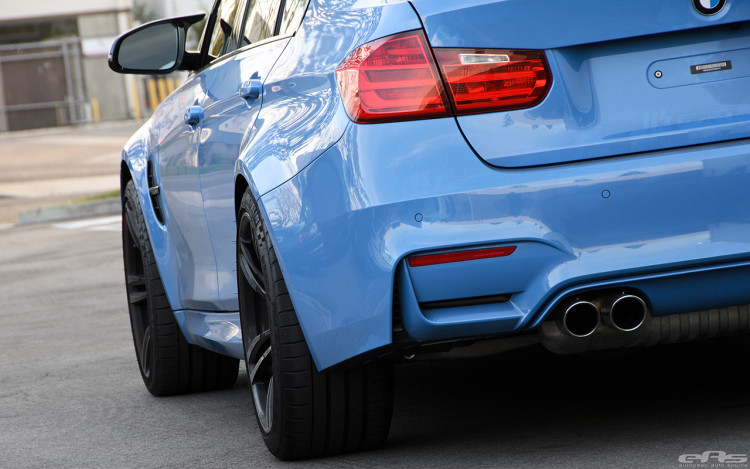 Yas Marina Blue BMW F80 M3 Gets Some Essential Updates 2 750x469