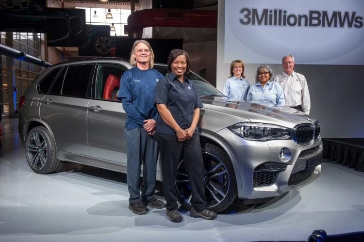 bmw celebrates 3 million cars spartanburg 750x499