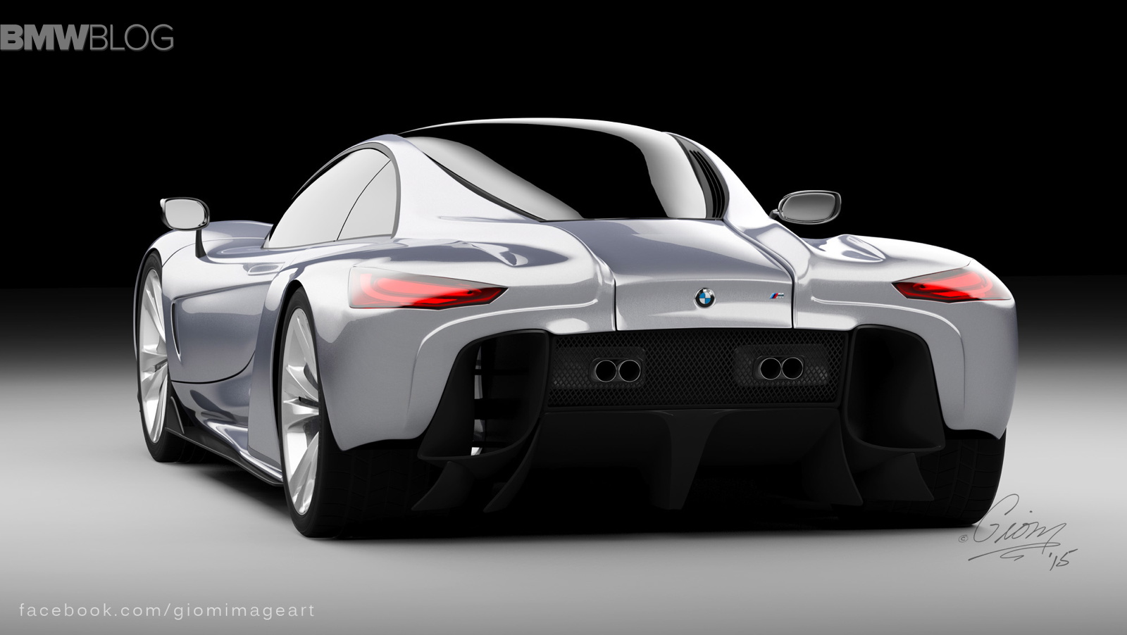 Rendering: BMW Hypercar to compete with McLaren P1 and ...
