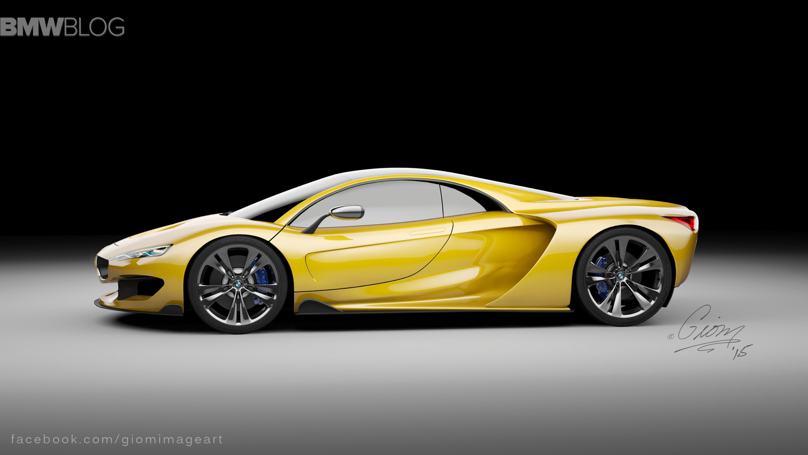 Rendering: BMW Hypercar To Compete With McLaren P1 And