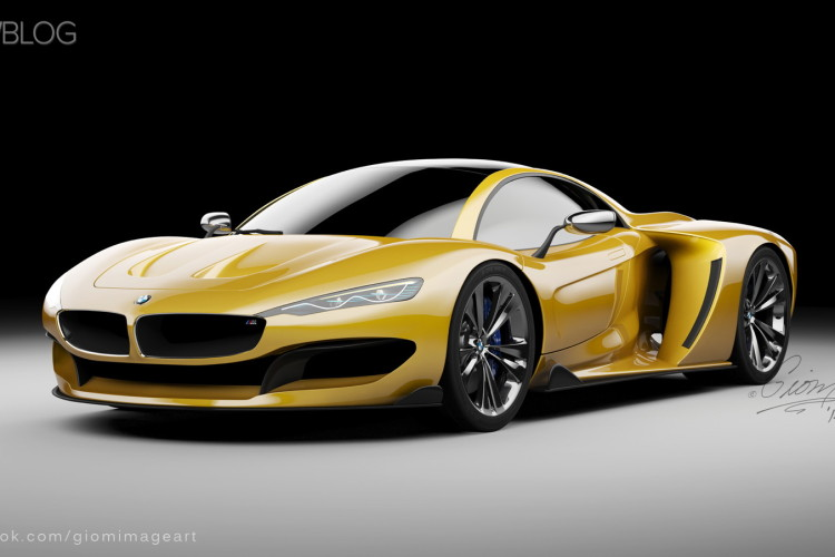 Rendering Bmw Hypercar To Compete With Mclaren P1 And Laferrari