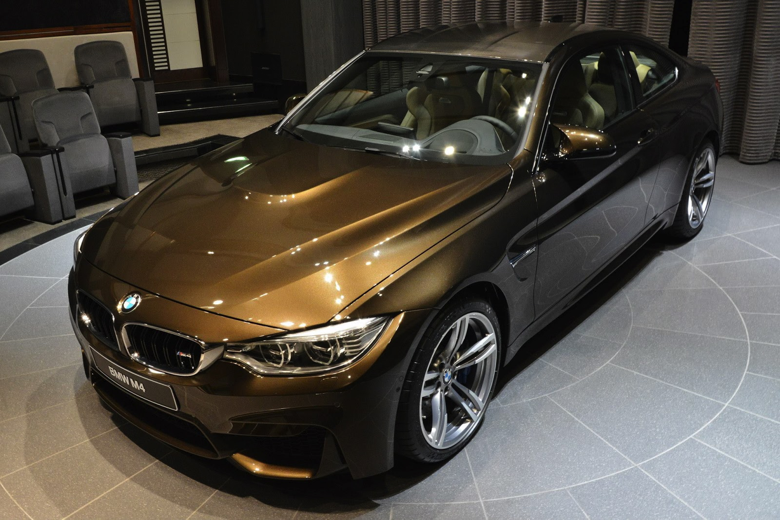 Bmw M4 Coupe In Pyrite Brown Individual Color