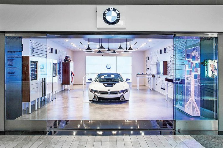 Bmw Pop Up Stores Part Of The Bmw Future Retail Program