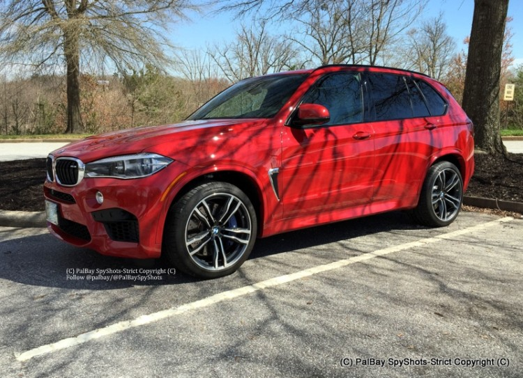 Bmw X5m Melbourne Red 6 2015 BMW X5