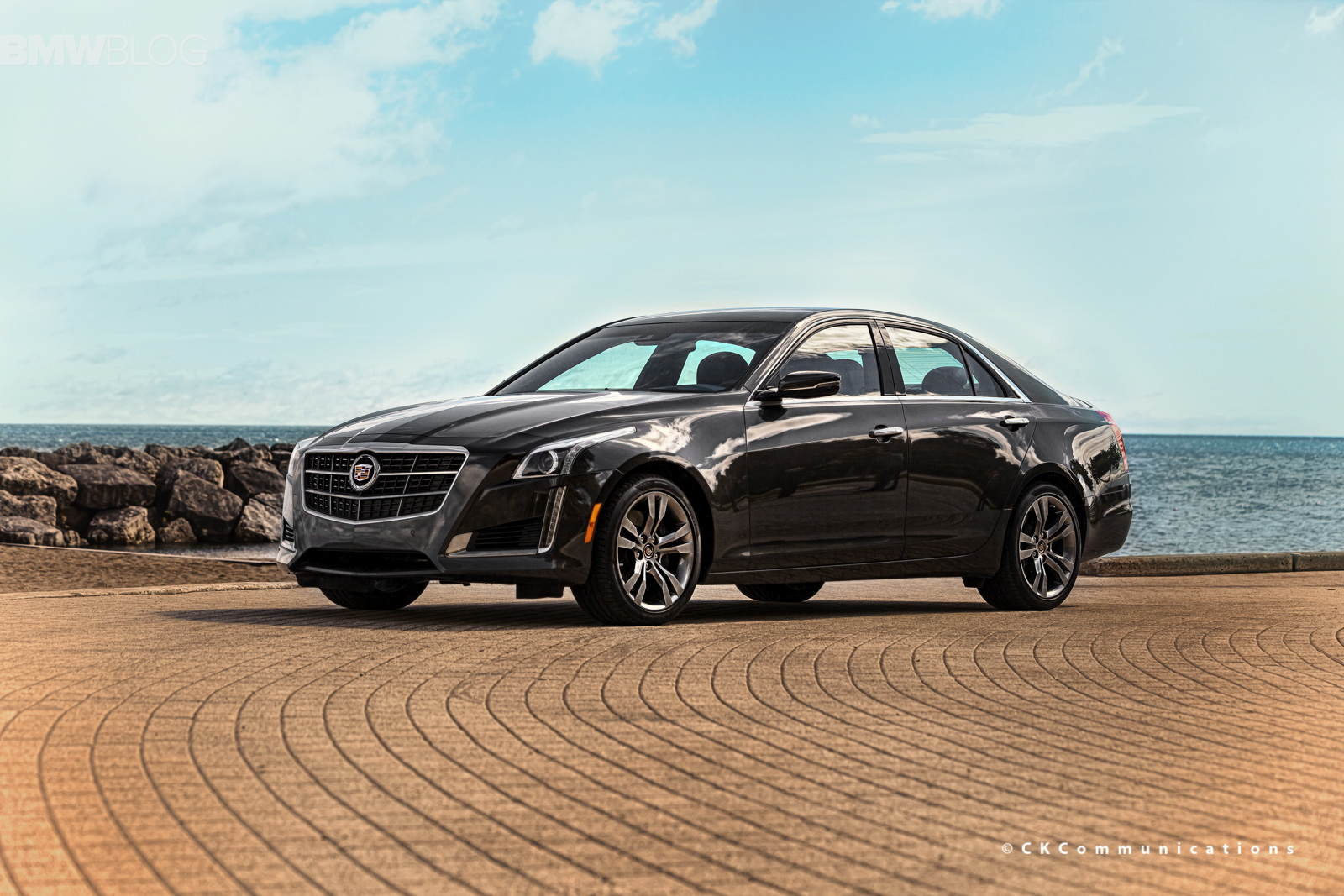 cadillac cts v test drive images 15