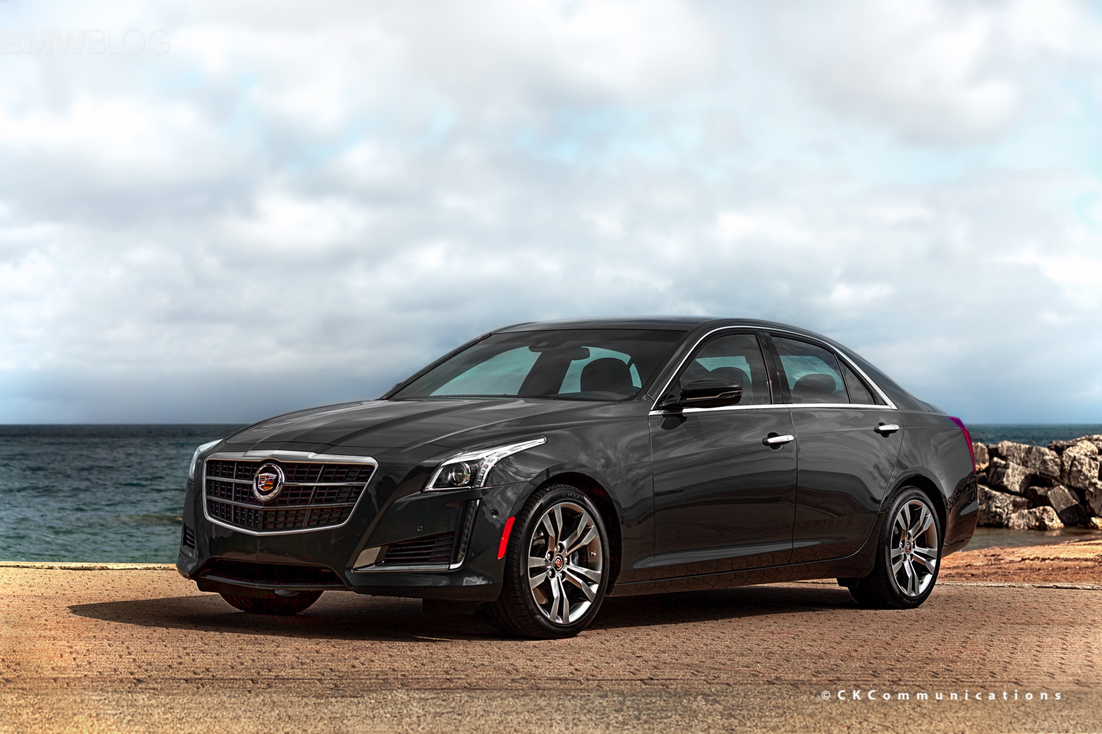 2014 Cadillac CTS V-Sport Test Drive