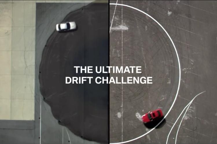 self drifting BMW vs. a drift champion 750x500