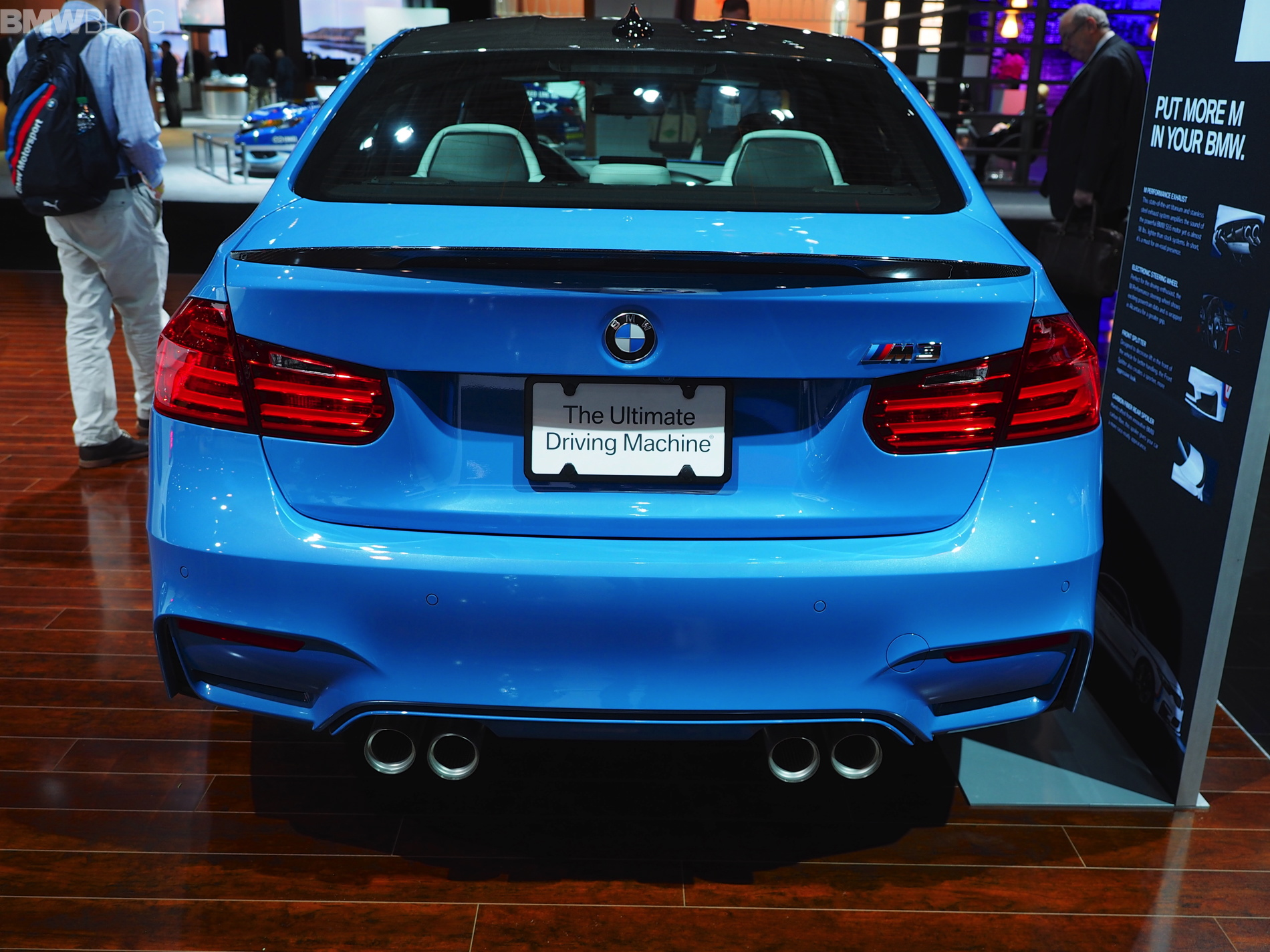 2015 nyias bmw m3 with m performance parts. Black Bedroom Furniture Sets. Home Design Ideas