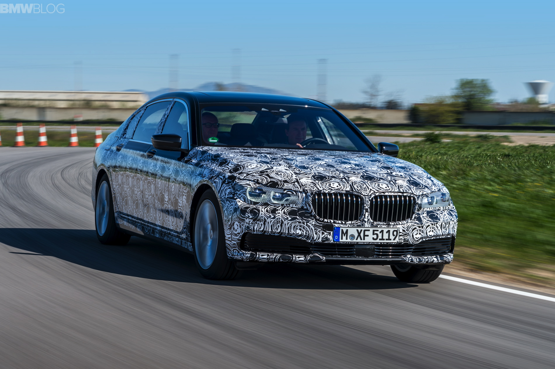 2016 bmw 7 series test drive 13