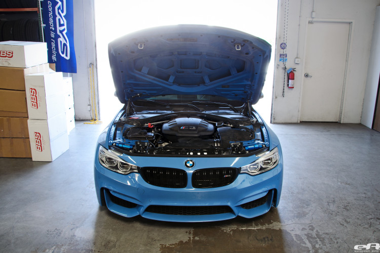A BMW F82 M4 Gets A V8 Powerplant Installed By European Auto Source 1 750x500