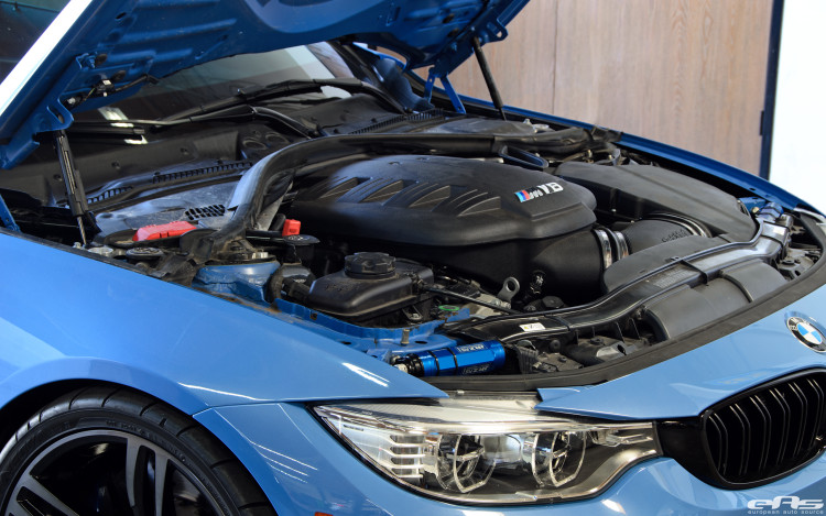 A BMW F82 M4 Gets A V8 Powerplant Installed By European Auto Source 2 750x469