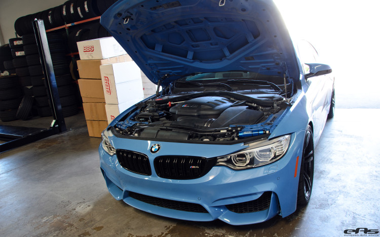 A BMW F82 M4 Gets A V8 Powerplant Installed By European Auto Source 3 750x469